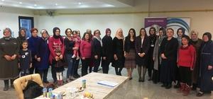 İzmit'te kadınlara kadın hakları ve sağlık eğitimleri verildi