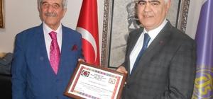 ESKÜDER'den Tuhafiyeciler Odası Başkanı Sefa Şen'e ''Hayırlı Olsun'' ziyareti