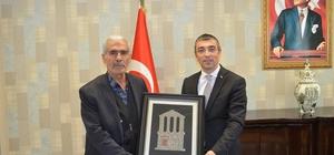Şehit polis Fethi Sekin'in babasından Milas ziyareti