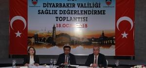 Vali Güzeloğlu, Sağlık Değerlendirme Toplantısına katıldı