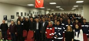 Devrek Belediye Başkanı Semerci işçilerle bir araya geldi