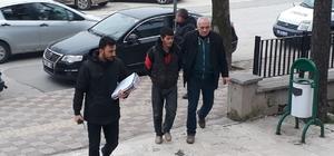 Edirne'de evden hırsızlık yapan şahıs tutuklandı