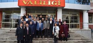 AK Parti İl Yönetimi vali, belediye başkanı ve emniyet müdürünü ziyaret etti
