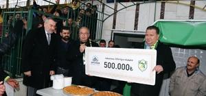 Adıyaman 1954 Spor'a 500 bin TL destek
