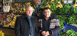 Develi Kaymakamı Murat Duru esnafları ziyaret etti