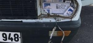 Suriye uyruklu sigara kaçakçısı polisi şaşırttı