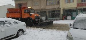 Çelikhan ilçesinde kar yağışı etkisini sürdürüyor