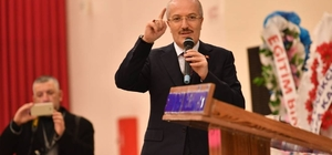 Başkan Kafaoğlu teşkilatlara moral verdi