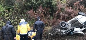 Alaplı-Akçakoca yolunda trafik kazası: 2 yaralı