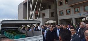 Alaşehir'de Zekiye hemşire son yolculuğuna uğurlandı