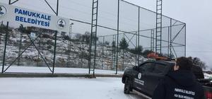 enizli'de yüksek mahallelerde kapanan yollar açılıyor