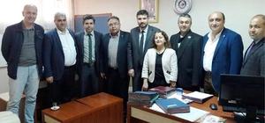 ydın Sağlık-Sen'den Aydın Devlet Hastanesi'nin yeni yönetimine ziyaret