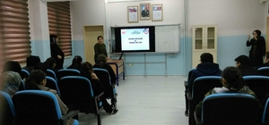 Dumlupınar'da Lise Öğrencilerine 'Veremle Mücadele' eğitimi