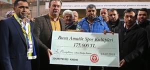 Buca Belediyesinden amatöre 175 bin lira destek