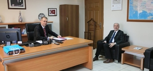 Başkan Kamil Saraçoğlu, vali yardımcılarını ziyaret etti
