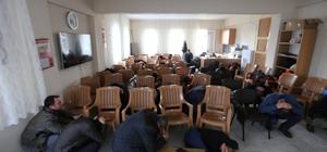 feler Belediyesi personeline yangın ve deprem tatbikatı
