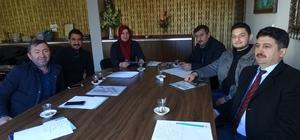 Hisarcık'ta jeotermal seralar faaliyete geçiyor