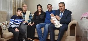 Başkan Çerçi, şimşek ailesinin mutluluğuna ortak oldu