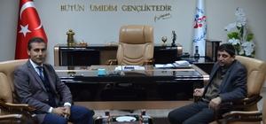 Başkan Aslan Müdür Keleş'ten projeler hakkında bilgiler aldı