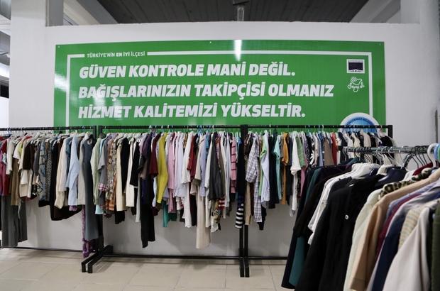 Sevgi Eli Market, Büyükçekmece'de her ay bin kişiyi giydiriyor