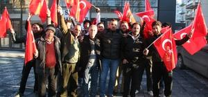 17 Suriye vatandaşı Türk askeri olmak için basın açıklaması yaptı