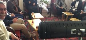AK Partili gençlerden Agit'e moral ziyareti