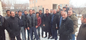 Malazgirt Ziraat Odası Başkanı Kılıç'ın köy ziyaretleri devam ediyor