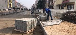 Turgutlu sokakları yenileniyor