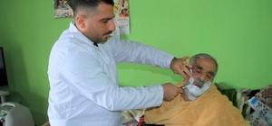 Genç Adımlar Derneğinden, yaşlı ve engellilere evde kuaför hizmeti