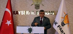 AK Parti Kayseri Milletvekili Sami Dedeoğlu: