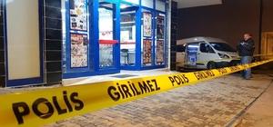 Kar maskeli soyguncu uzun namlulu silahla marketi soydu