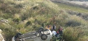 Kuşadası'nda kadın emlakçı kiralık araçla uçuruma yuvarlandı