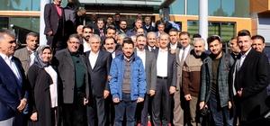 AK Parti tam kadro basınla buluştu