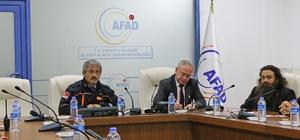 AFAD'ta Acil Durum STK'ları ile değerlendirme toplantısı yapıldı