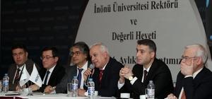 Rektör Kızılay, MİAD toplantısına katıldı