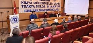 Albayrak, TMMOB Olağan Genel Kurul Toplantısına katıldı
