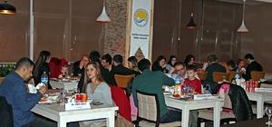 Kayakla Atlama Kıtalararası Kupa Yarışına katılan sporcuları Atatürk Üniversitesi ağırladı