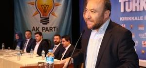 """K Parti'li Dağdelen: """"Azminiz bu ülkenin en büyük teminatıdır"""""""