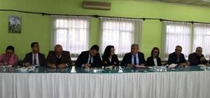 Aydın İl Sağlık Müdürlüğü'nde istişare toplantısı düzenlendi