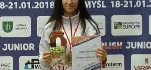 Milli Sporcu İnci, Polonya'dan Madalya ile Döndü