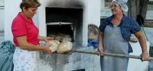 Mudanyalı kadınlardan organik köy ekmeği