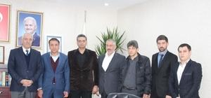 Mardin'de MHP, AK Parti'yi ziyaret etti
