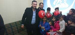 Ülkü Ocakları Eskişehir Yunus Emre İlçe Başkanlığı'ndan çocuklara karne hediyesi