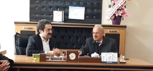 Başkan Hakan'dan GESO Başkanı Yamaç'a ziyaret