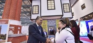Başkan Uysal, EMİTT'e Kaleiçi'ni tanıtacak