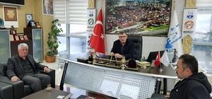 Yenipazar AK Parti Teşkilatı'ndan Başkan Duymuş'a ziyaret
