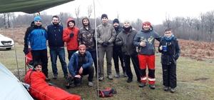 SAMDAK'tan Kocadağ'da dağcılık kış eğitimi