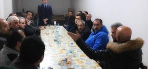 AK Parti Odunpazarı İlçe Başkanı Volkan Doğan site sakinleriyle bir araya geldi