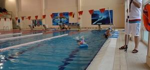 Darıca'da yüzme havuzlara ilgi yoğun
