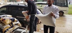 önüllü aşçılar, Reyhanlı'daki savaş mağdurlarına gıda yardımında bulundu
